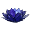 Indigo Capiz Lotus Tea Light Holder