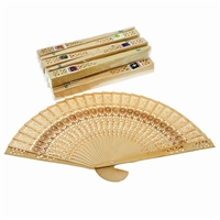 Scented Natural Wood Fans