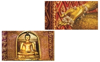 TEMPLE BUDDHA MATCHBOX