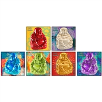 Lucky Buddha Square Matchbox