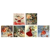 Christmas Past Square Matchbox Asst 60Pk