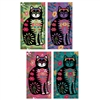 Flower Power Cat Large Matchbox Asst 24Pk