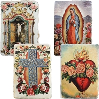 Spiritual Icon Mini Journal Deckle Edge Paper
