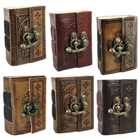 Leather Embossed  Mini Journal