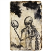 Skeleton Friend Notebook Old World