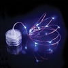 Submersible Dew Drop String Lights Blue
