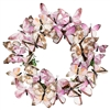 Wonderland Paper Butterfly Wreath Lavender
