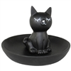 Miss Ebony Cat Ring Tray
