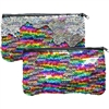 Mermaid Magic color changing rainbow sequin handbag