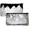 Mermaid Magic Sequin Handbags Black & Silver