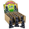 Nirvana Cat Candle Black