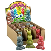 Nirvana Cat Candle Colors