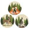 Paper Coaster Forest Friends