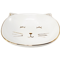 Smiley Cat Bowl