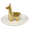 Golden Llama Ring Tray