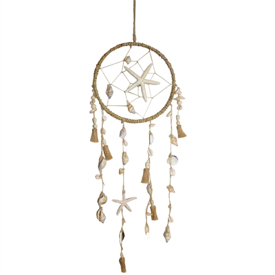 Dream catcher with shells