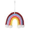 Mini Rainbow & Clouds Mobile w/Pom-Poms