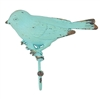 Vintage Bird on Branch Hook Turquoise
