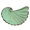 Nautilus Shell Tray Antique Sage