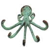 Octopus Wall Hook Emerald