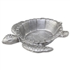 Sea Turtle Silver Metal Tray