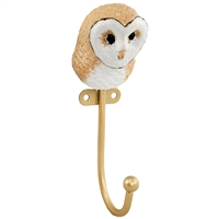 Barn Owl Wall Hook