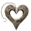 Ashia Metal Heart Lantern Decor