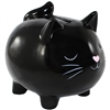 Kitty Cat Bank Black & Pink