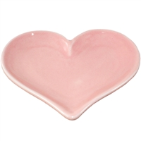Blushing Heart Ring Tray