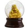 Golden Buddha Glitter Snow Globe Large