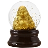 Golden Buddha Glitter Snow Globe Small 1Dz