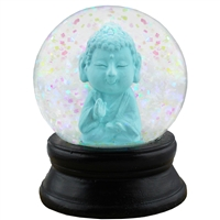 Baby Buddha Snow Globe Mini