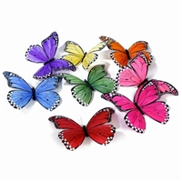 Spring Jumbo Butterfly Garland