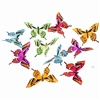 Butterfly Garland Spring Colors