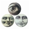 Moon Face & Eye Glass Trays
