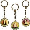 Buddha & Blossoms Key Rings