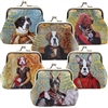 Canine Portrait Clasp Coin Purse