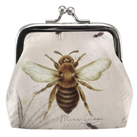 Honey Bee Coin Purse