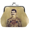 Tat man Clasp Coin Purse