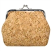 Cork Clasp Coin Purse