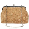 Cork & Gold Handbag with Chain