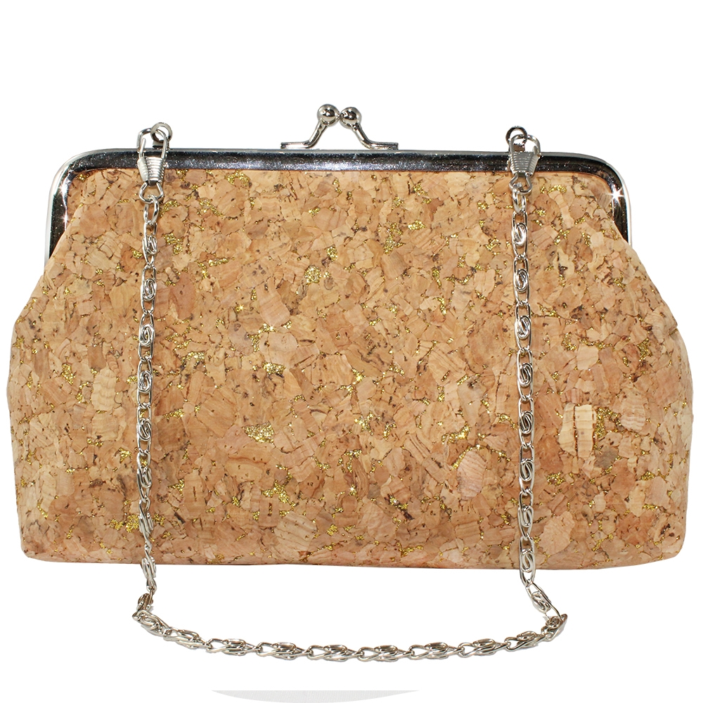 hooks for purses on wall.htm cork   gold handbag with chain  cork   gold handbag with chain