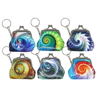 Nautilus Clasp Coin Purse Keychain