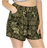 Siren Shorts Tribal Elephants