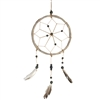 Branch Dream Catcher Natural Beads w/Feathers