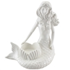 Shellie Mermaid Porcelain Statue
