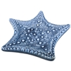 Starfish Porcelain Blue Tray