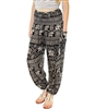 Jeannie Pants Black-White