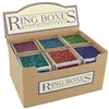 Rainwater Glass Ring Boxes
