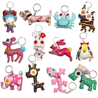 Little Googly Xanimals Key Ring